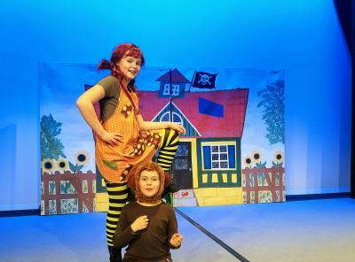 Pippi und ihr Äffchen Herr Nilsson