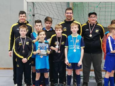 Foto zur Meldung: Fußball: D - Junioren mit Platz in Luckau