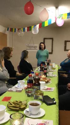 Foto zur Meldung: Neujahrsempfang im Nachwuchsclub Wusterhausen