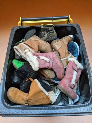 Foto zur Meldung: SHUUZ - Gutes tun mit gebrauchten Schuhen