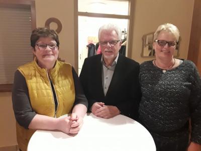 Gabi Biß, Norbert Radzankowski und Birte Volquardsen