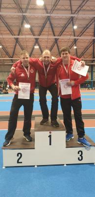 Vorschaubild zur Meldung: Leichtathleten sahnen bei den Norddeutschen Meisterschaften ab