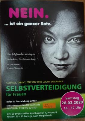 Vorschaubild zur Meldung: Selbstverteidigung für Frauen