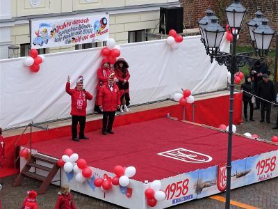 Foto zur Meldung: Wagenvorstellung der 62. Carnevalssaison
