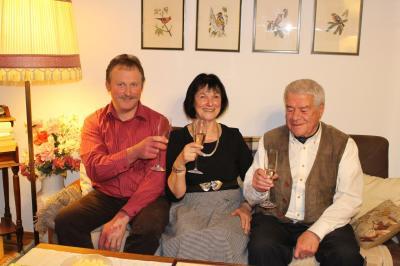Foto zu Meldung: Hannelore Dietrich-Wipfelder konnte ihr 80. Wiegenfest feiern