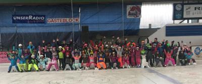 Foto zur Meldung: Wintersporttag an der Grundschule Prackenbach