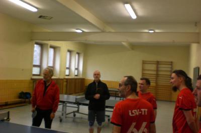 Tischtennis: Freundschaftsspiel gegen die Tennisfreunde Gersdorf