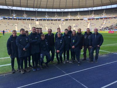 Foto zur Meldung: Stadt Nauen präsentierte sich erneut im Berliner Olympiastadion