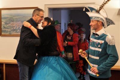 Foto zur Meldung: Bürgermeister empfängt den NCC 2020