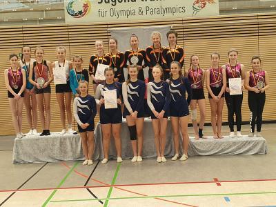 Foto zur Meldung: Gelungener Auftakt der Turnerinnen beim Regionalfinale JtfO