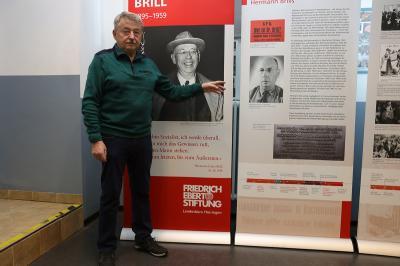 Foto zur Meldung: Ausstellung – Hermann Brill – zum 125. Geburtstag ( 1895 – 1959)