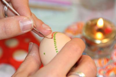 Foto zu Meldung: Ostereierverzieren für Jedermann