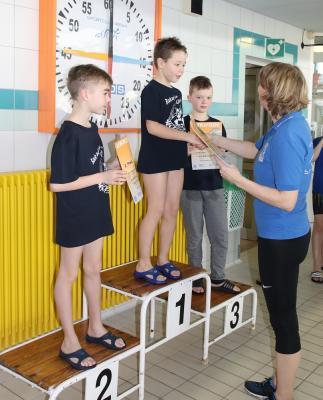 Foto zur Meldung: Schwimmen Testwettkampf in Riesa
