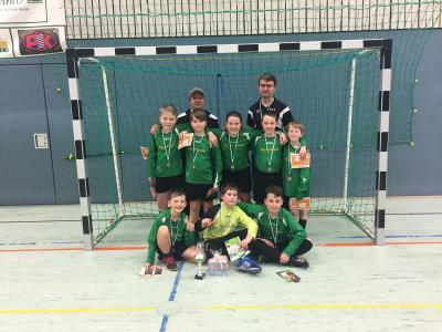 Foto zur Meldung: E-Junioren holen Bronze bei KickFixx-Turnier in Löbau