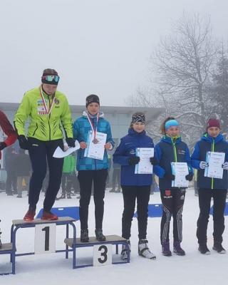Foto zur Meldung: Thüringer Meisterschaft Skilanglauf Einzel