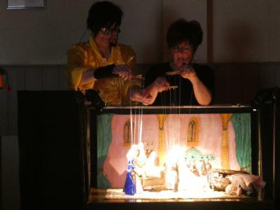 Foto zur Meldung: Chorprobe der besonderen Art