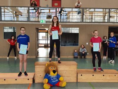 Isaline Pergande und Nele Rodenhagen gewinnen beim Hallenmeeting in Zehdenick