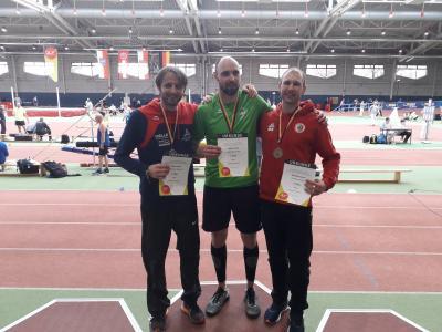 Vorschaubild zur Meldung: Bronzemedaille bei den Deutschen Hallenmeisterschaften