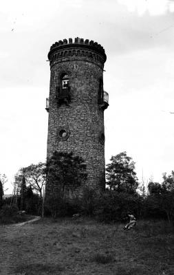 Der Bismarckturm auf dem Stadtberg