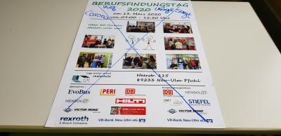 Foto zur Meldung: Berufsfindungstag Inge-Aicher-Scholl Realschule Pfuhl entfällt