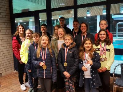 Foto zur Meldung: 5 Kreismeistertitel für die SCS-Schwimmerinnen und Schwimmer