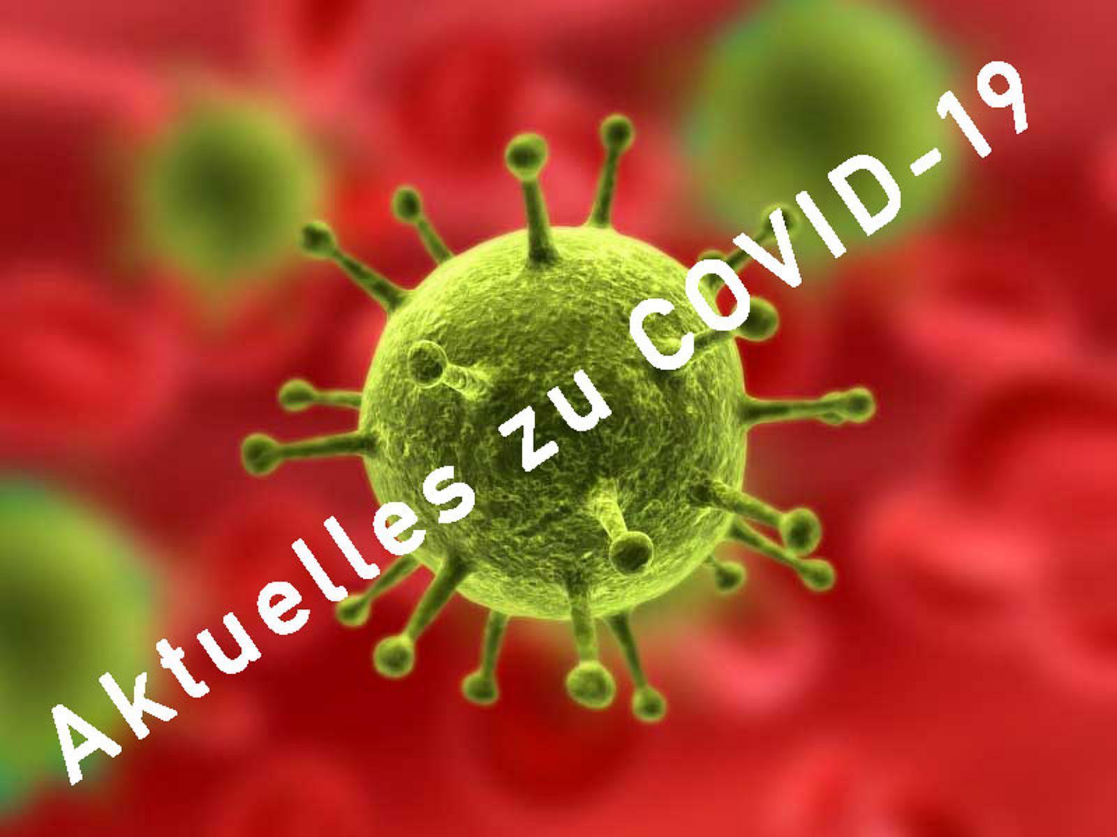 """Bild der Meldung: """"Aktuelles"""" - Covid19-Vereins-Informationen"""
