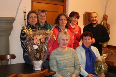 Foto zur Meldung: Der Frauenbund traf sich zur Jahreshauptversammlung