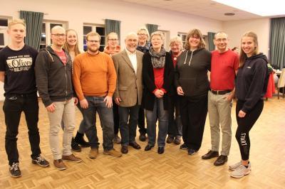 Foto zur Meldung: DLRG freut sich über viele Mitglieder