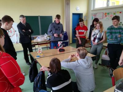 Energiekurs an der Willy-Gabbert-Schule