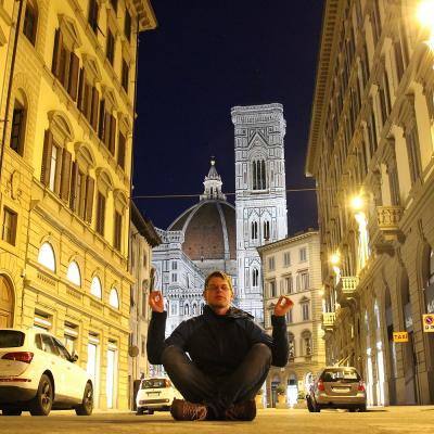 Foto zur Meldung: Grüße eines Lok-Sportlers aus Italien