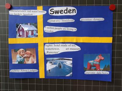 Foto zur Meldung: Englisch Klasse 4a
