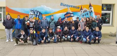 Vorschaubild zur Meldung: Klassenfahrt nach Magdeburg