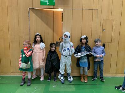 Vorschaubild zur Meldung: Faschingsfeier der Grundschule Sennfeld