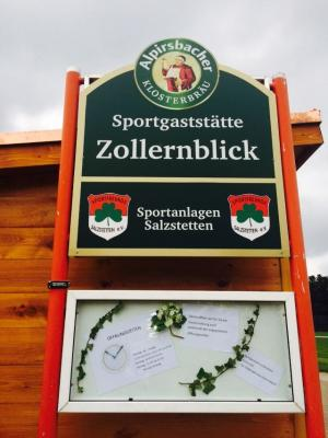 Vorschaubild zur Meldung: Zollernblick - Gaststätte wieder geschlossen - Essen zum Abholen