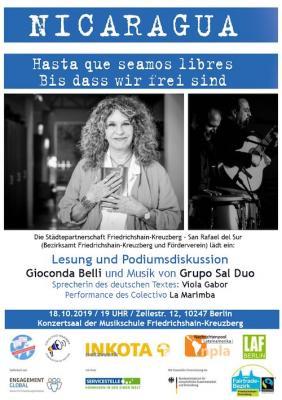 Vorschaubild zur Meldung: Nicaragua: Hasta que seamos libres – Bis dass wir frei sind
