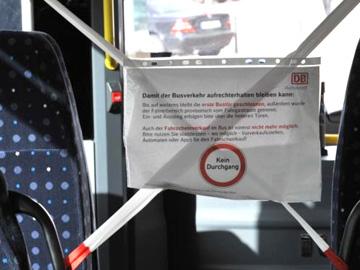 Vorschaubild zur Meldung: Corona-Krise: Grundtakt bei Bus und Bahn erhalten!