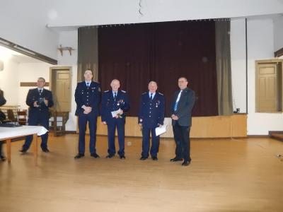 Foto zur Meldung: Auszeichnungsveranstaltung Feuerwehr