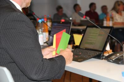 Vorschaubild zur Meldung: Stadtverordnetenversammlung findet nun am 6. April in der Aula der Gerhard-Goßmann-Schule statt