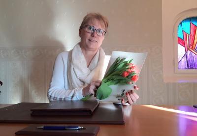 Brautpaare können sich jetzt freuen auf die neue Standesbeamtin Jacqueline Goldboom
