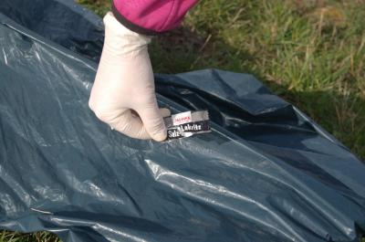 Foto zur Meldung: Müllsammeln in und um Bühren