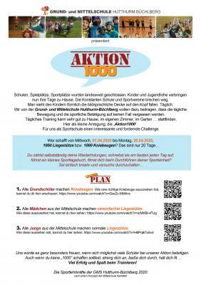 Vorschaubild zur Meldung: Aktion 1000 - Wettbewerb