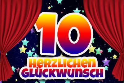 Vorschaubild zur Meldung: Herzlichen Glückwunsch zum 10. Geburtstag