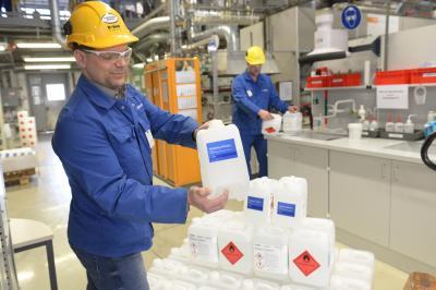 """Bild der Meldung: BASF in Schwarzheide schließt sich Aktion """"Helping Hands"""" an"""