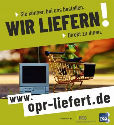 Vorschaubild zur Meldung: OPR liefert! So können Sie zu Hause bleiben!