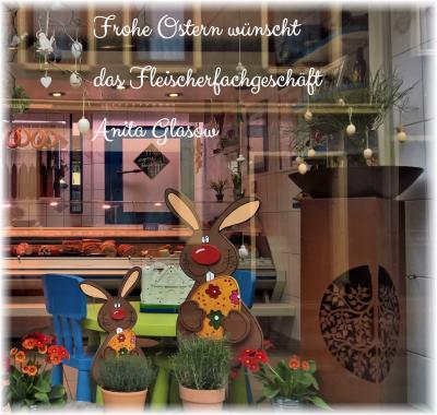 Foto zur Meldung: Fleischerfachgeschäft A. Glasow - frohes Osterfest