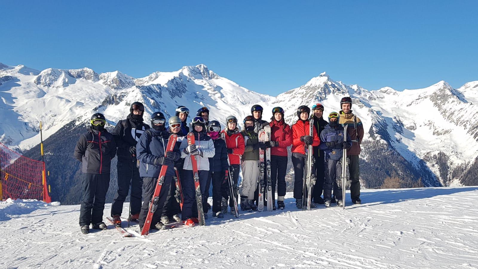 Bild der Meldung: Bericht vom Skikurs im Januar