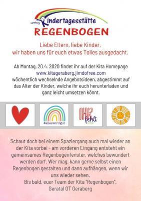 Foto zur Meldung: Information der Kindertagesstätte Geraberg
