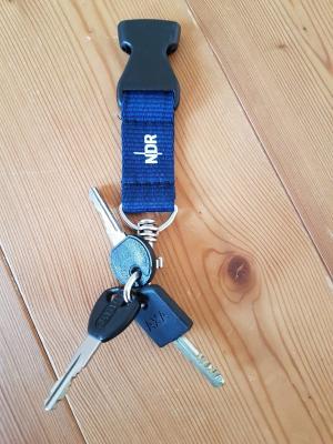 Foto zur Meldung: Schlüsselbund gefunden – Besitzer gesucht