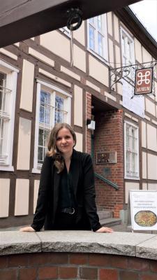 Foto zur Meldung: Neue Leiterin im Stadt- und Regionalmuseum: Anja Pöpplau