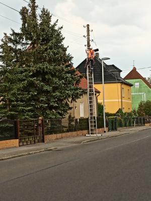 Schipkau investiert in seine Straßenbeleuchtung